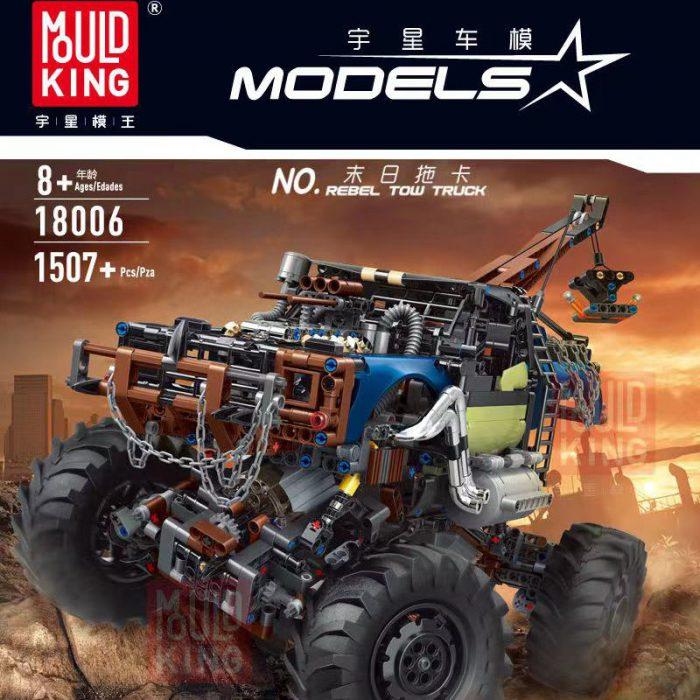 Technic MOULDKING 18006 Rebel Tow Truck