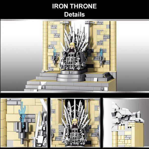 Movie Game Of Thrones 18K K130 Iron Throne