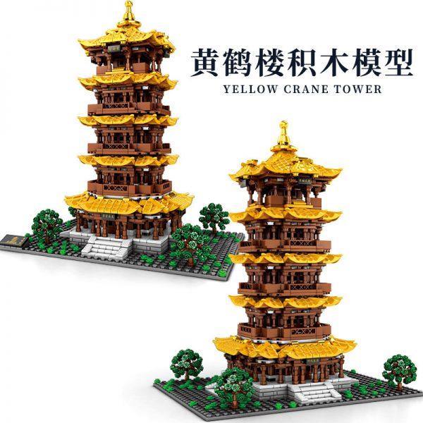SEMBO 601140 Yellow Crane Tower in Wuhan Hubei 2