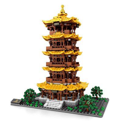 SEMBO 601140 Yellow Crane Tower in Wuhan Hubei 4