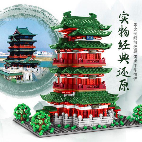 SEMBO 601141 Pavilion of Prince Teng Tengwang Pavilion Nanchang Jiangxi 2