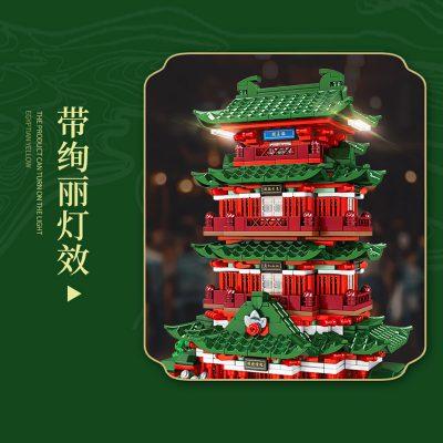 SEMBO 601141 Pavilion of Prince Teng Tengwang Pavilion Nanchang Jiangxi 4
