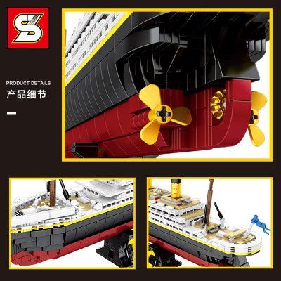 SY 0400 The classic cruise Titanic ship 5