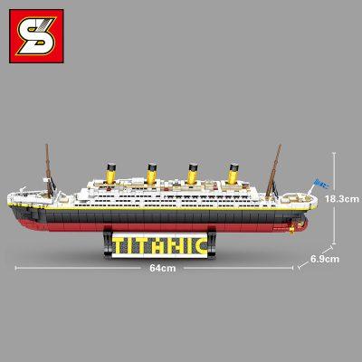 SY 0400 The classic cruise Titanic ship 6
