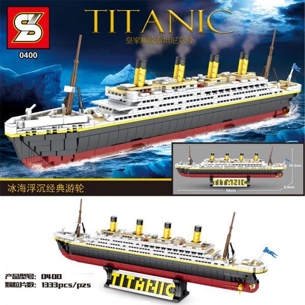 SY 0400 The classic cruise Titanic ship