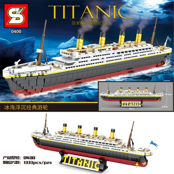 Technic sy 0400 the classic cruise titanic ship
