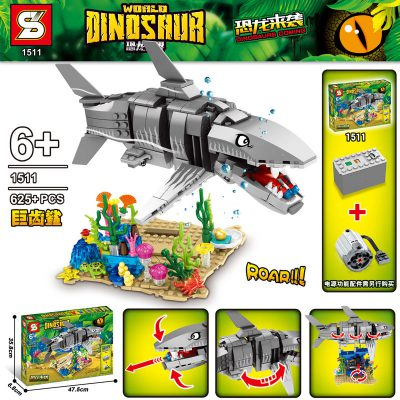 Creator SY 1511 Dinosaur World: Megalodon