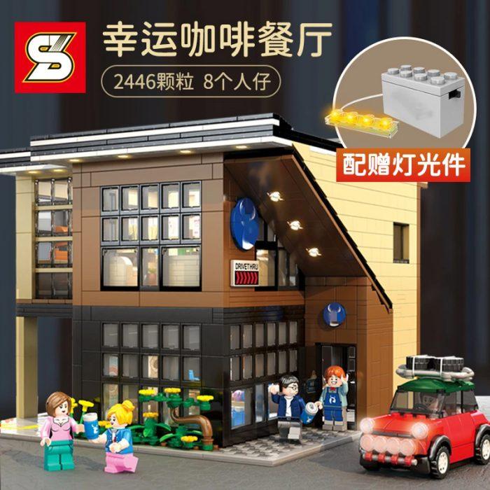 Modular Buildings SY 5208 Luckin Coffee With Lights