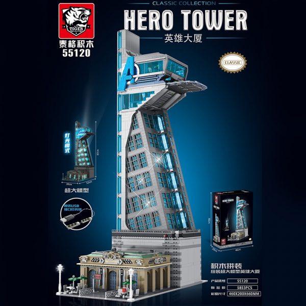 Movie TIGER 55120 Hero Tower Avengers