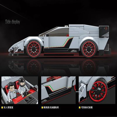 Technic 100136 Lamborghini Veneno 4