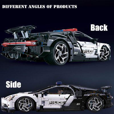 Technic DECOOL 3388D The Police Racing Car 3