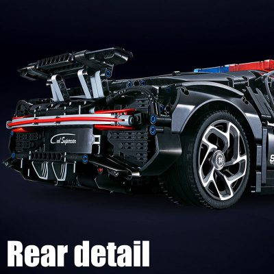 Technic DECOOL 3388D The Police Racing Car 6