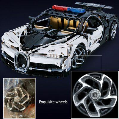 Technic DECOOL 3388D The Police Racing Car 7