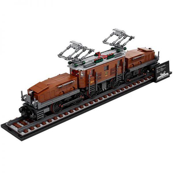 Technic KING 40010 Crocodile Locomotive