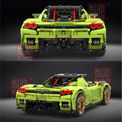 Technic MOULDKING 13074 The Green Sport Car 4