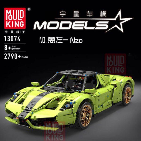 Technic MOULDKING 13074 The Green Sport Car
