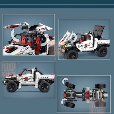 Technic MOULDKING 18005 Silver Flagship Off Road 5