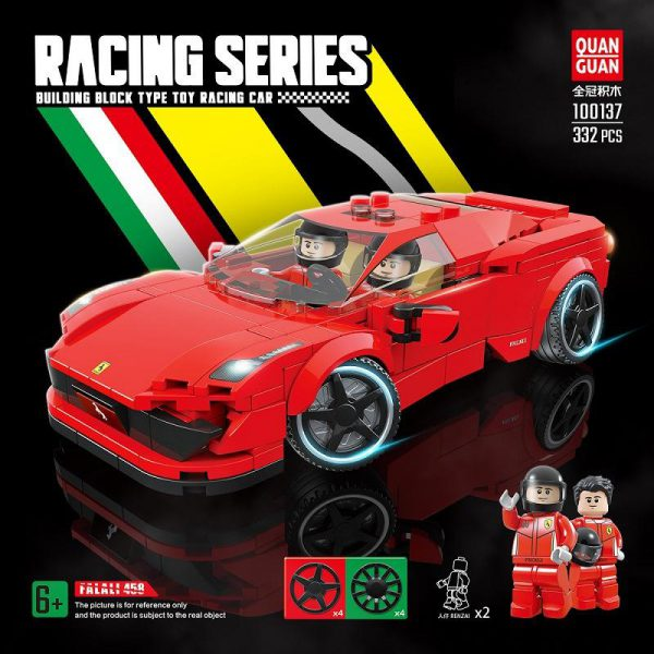 Technic QUANGUAN 100137 Ferrari 458