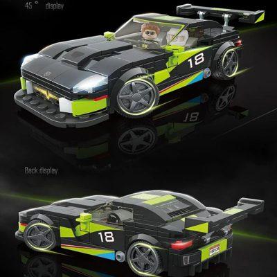 Technic QUANGUAN 100138 Dodge ACR 3