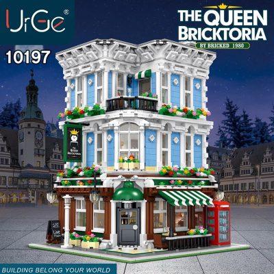 Modular Buildings URGE 10197 The Queen Bricktopia
