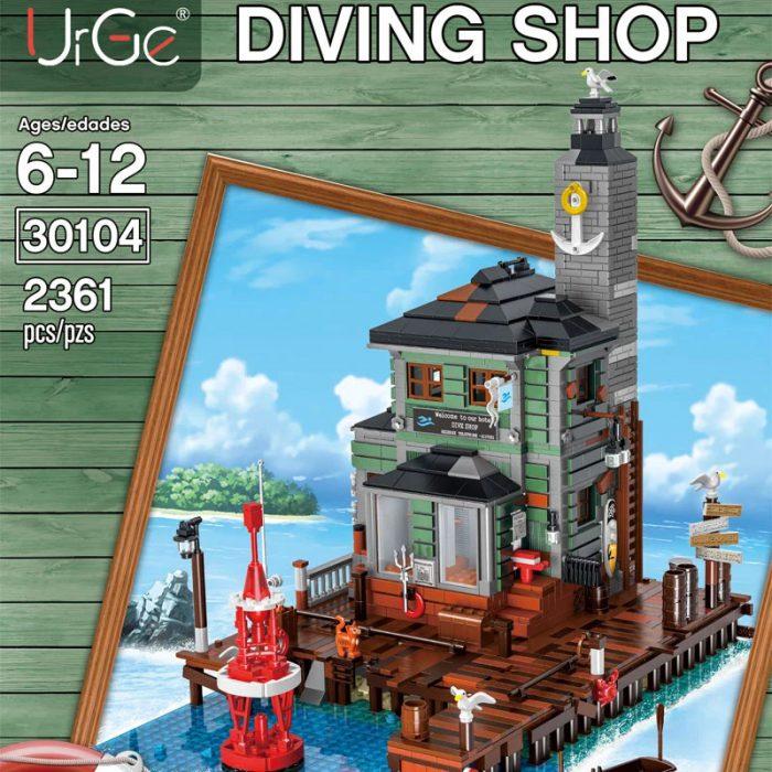 Modular Buildings URGE 30104 Diving Shop