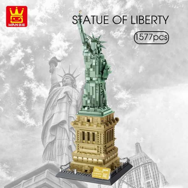 Creator WANGE 5227 The Liberty Statue