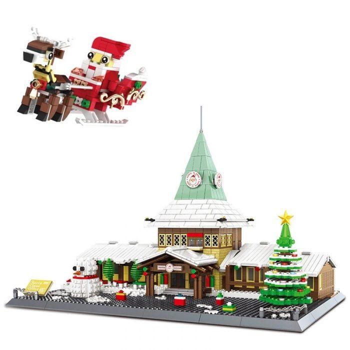 Creator WANGE 6218 Santa Claus Office