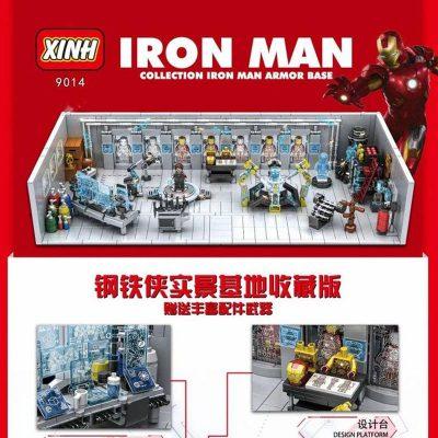 Super Heroes XINH 9014 Iron Man - Collection Iron Man Armor Base