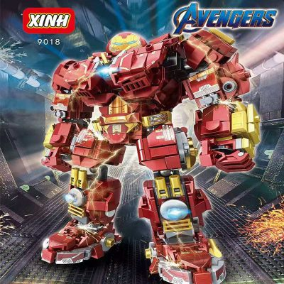 Super Heroes XINH 9018 Avengers Anti-Hulk Armor