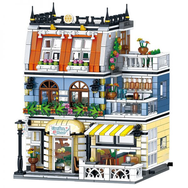 Modular Buildings ZHEGAO QL0940 Garden Hotel