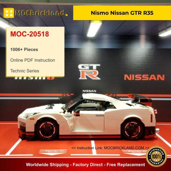 Technic MOC-20518 Nismo Nissan GTR R35 By Firas Legocars MOCBRICKLAND