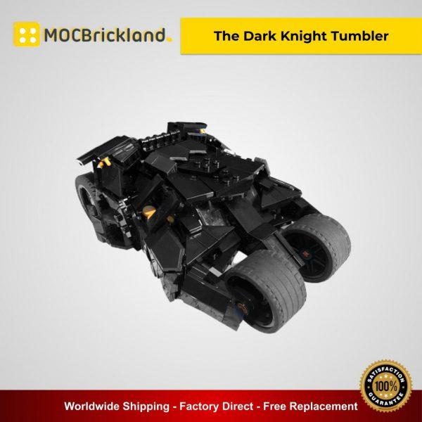 Movie Batman MOC-40543 The Dark Knight Tumbler By Riskjockey MOCBRICKLAND