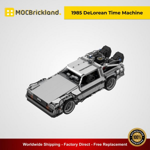 Movie MOC 42632 Back to the Future 1985 DeLorean Time Machine By Luissaladrigas MOCBRICKLAND