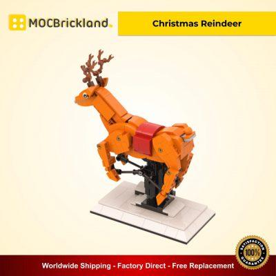 Creator MOC 90040 Christmas Reindeer MOCBRICKLAND