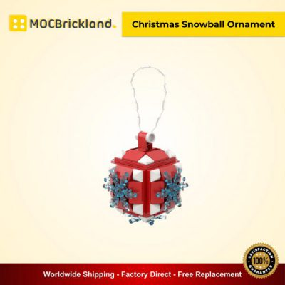 Creator MOC 90041Christmas Snowball Ornament MOCBRICKLAND