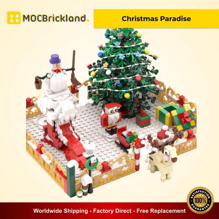 Creator MOC 90042 Christmas Paradise MOCBRICKLAND
