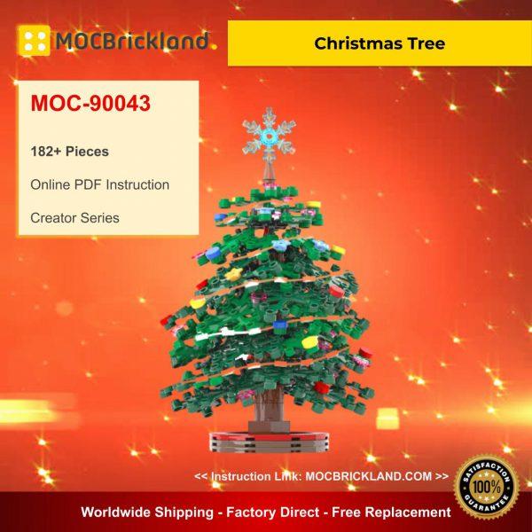 Creator MOC 90043 Christmas Tree MOCBRICKLAND