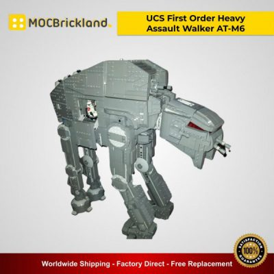 Star Wars MOC-14910 UCS First Order Heavy Assault Walker AT-M6 By EDGE OF BRICKS MOCBRICKLAND