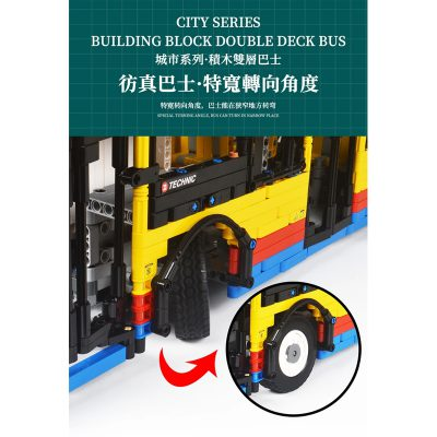 BUILO YC QC015 TransBus Enviro 500 Mark I City Double Decker Bus 5