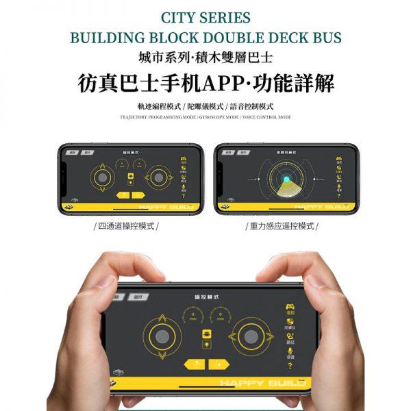 BUILO YC QC015 TransBus Enviro 500 Mark I City Double Decker Bus 8
