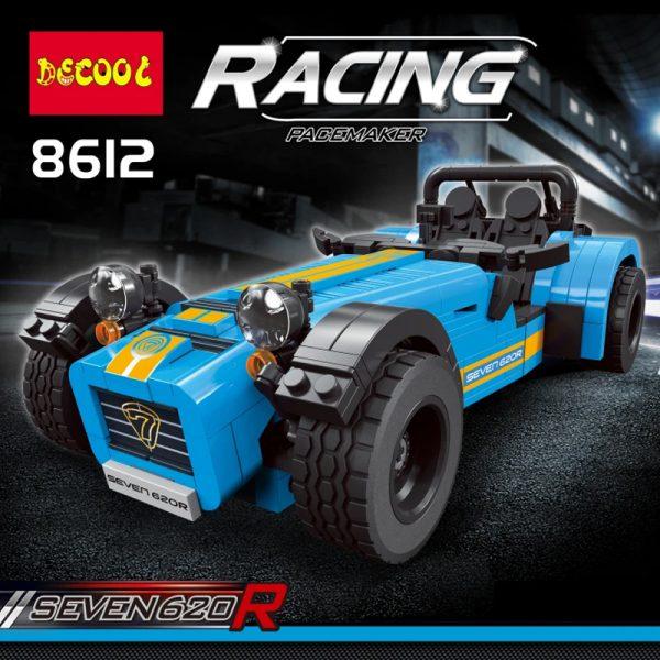 Technic DECOOL 8612 The Caterham Classic 620R Racing Car