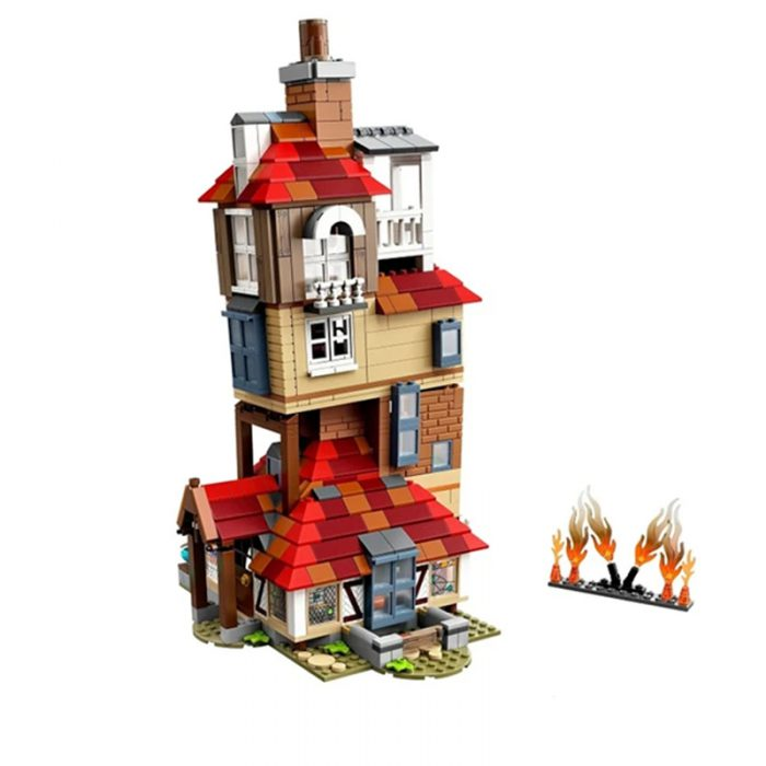 Movie king 80009 attack on the burrow compatible lego 75980