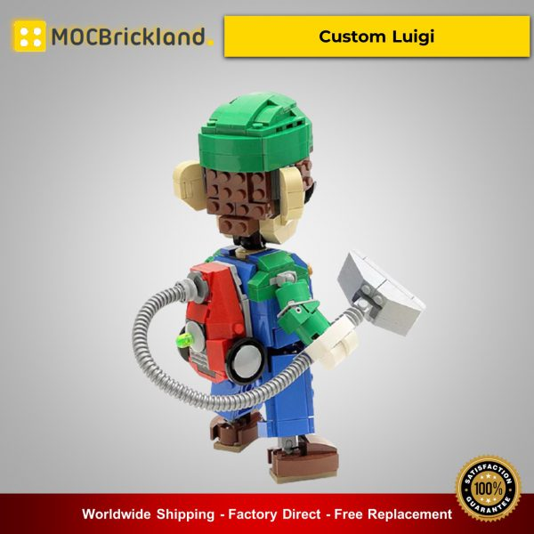 Movie MOC-13506 Custom Luigi By buildbetterbricks MOCBRICKLAND