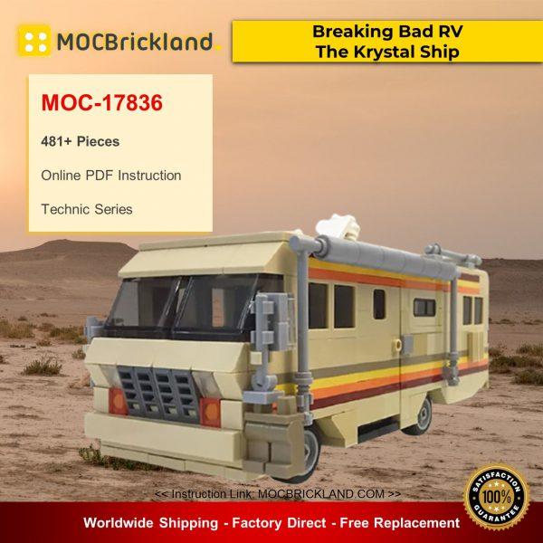 Technic MOC-17836 Breaking Bad RV - The Krystal Ship By MOMAtteo79 MOCBRICKLAND