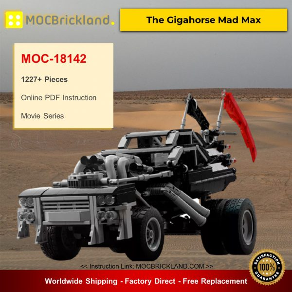Movie MOC-18142 The Gigahorse Mad Max By brickvault MOCBRICKLAND