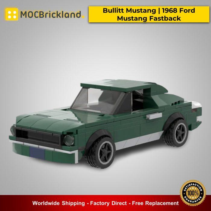 Technic MOC-21388 Bullitt Mustang | 1968 Ford Mustang Fastback By mkibs MOCBRICKLAND