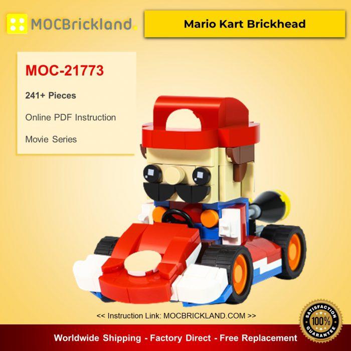 Movie MOC-21773 Mario Kart Brickhead by VNMBricks MOCBRICKLAND