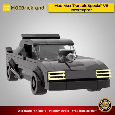 Movie MOC-21806 Mad Max 'Pursuit Special' V8 Interceptor By mkibs MOCBRICKLAND