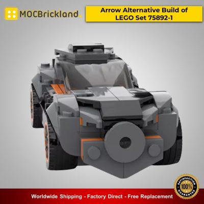Technic MOC-25814 Arrow Alternative Build of LEGO Set 75892-1 By Lego Dark Side MOCBRICKLAND