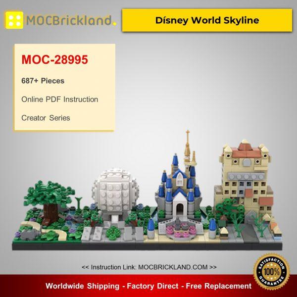 Creator MOC-28995 Dísney World Skyline By benbuildslego MOCBRICKLAND